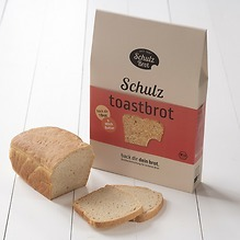 Bio Brotbackmischungen Toastbrot