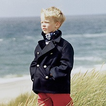 Gloverall Pea Coat Kinder