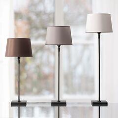 Fuß für Tischleuchte schwarz