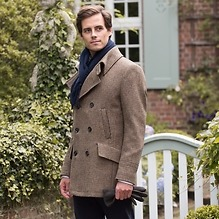 Risby & Leckonfield: Pea Coat Mayfair