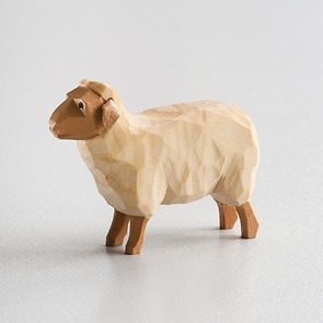 Sievers-Hahn Krippenfigur Helles Schaf