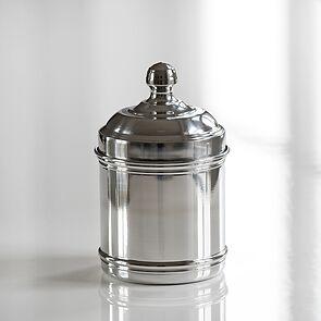 Italo Ottinetti Vorratsgefäße aus Aluminium glänzend klein