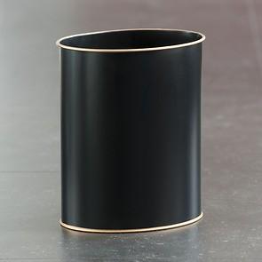 Lady Clare Papierkorb schwarz