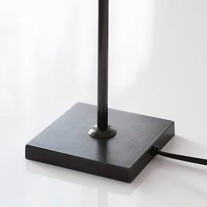 Kleine Tischleuchte 35 cm Schwarz