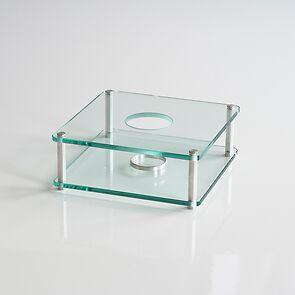 Mawa Glas-Stövchen 1-flammig