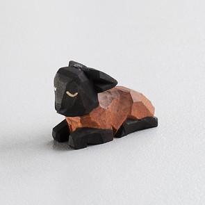 Sievers-Hahn Krippenfigur Dunkles Lamm