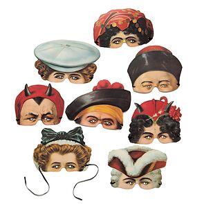 Karnevalsmasken 'Madame Tussauds'