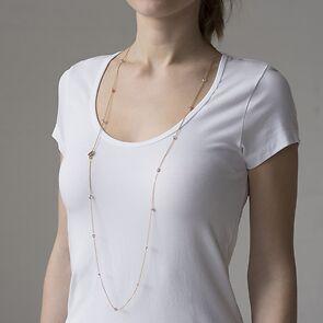 Marjana von Berlepsch Halskette Allegra Vergoldet