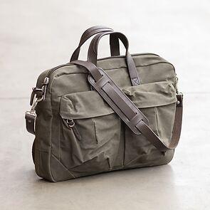 Property Of - Work Bag 'Tommy'Dark Tan