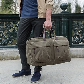 Property of - Tommy Trip Bag Dark Tan