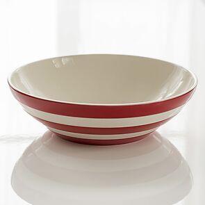 Schüssel 31 cm Cornishware Rot