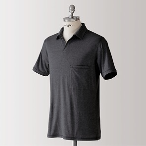 Sunday in Bed Pyjamashirt Morris Kurzarm Nearly Black XL