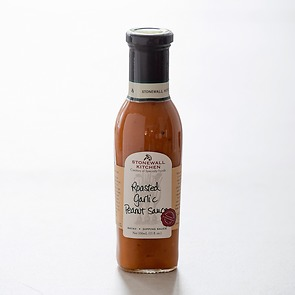 Stonewall Kitchen Roasted Garlic Peanut Sauce 330 ml