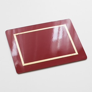 4 Tischsets Red_Gold