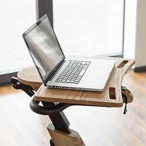 Laptop-Ablage aus Eichenholz (Zusatzartikel für NOHrD Bike)