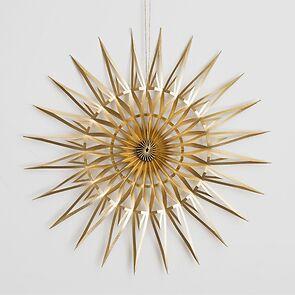 DWM Papierstern Gold 14 cm