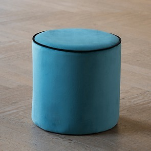 Pouf Madison Bleu