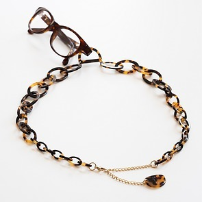 Brillenkette mit D-Ring Dark Tokyo