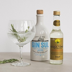 Gin Tonic Cocktail-Set