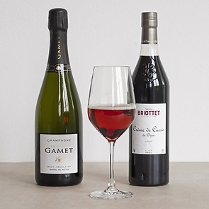 Kir Royal Cocktail-Set