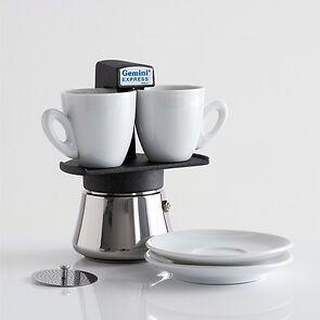 Starterset Espressokocher Gemini