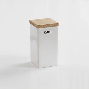 Kaffee-Vorratsdose mit Holzdeckel