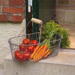Kleiner Gartenkorb