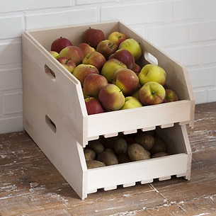 Stapelbare Obstkiste