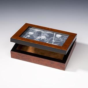 Wurzelholz Fotobox 10x15