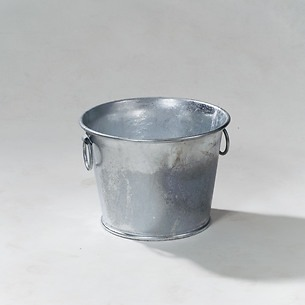 Zink-Pflanzkübel 33x44 cm