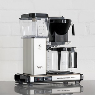 Kaffeemaschine Moccamaster KBG Select Gebürstet