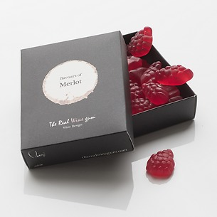 The Real Wine Gum Merlot 50g