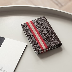 Q7 Wallet Classy Brown/Red
