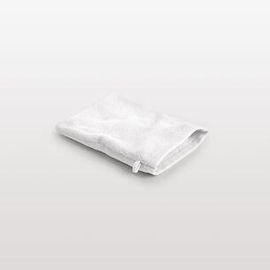 Torquato WHITE Waschhandschuh Weiß 16 x 22 cm