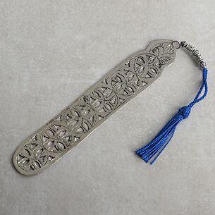 Lesezeichen Meknès Blau