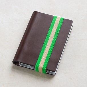 Q7 Wallet Smooth Brown/Green