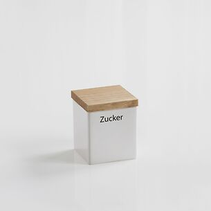 Zucker-Vorratsdose mit Holzdeckel