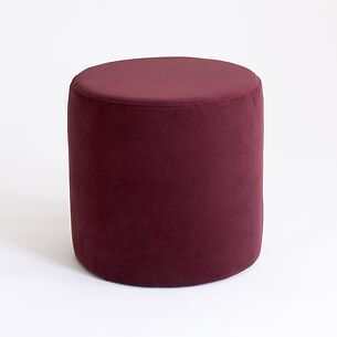Pouf Anglet Aubergine