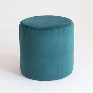 Pouf Anglet Bleu Paon