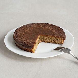 Bio Mandelkuchen mit Haselnüssen und Vanilleextrakt