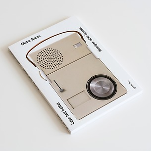"Buch: Dieter Rams Titel ""Less but better"""