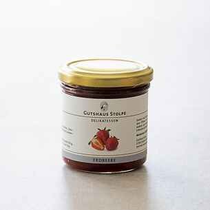 Gutshaus Stolpe: Erdbeermarmelade 167 g
