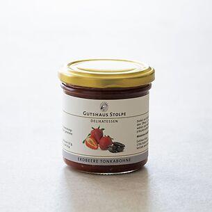 Gutshaus Stolpe: Fruchtaufstrich Erdbeere mit Tonkabohne 167