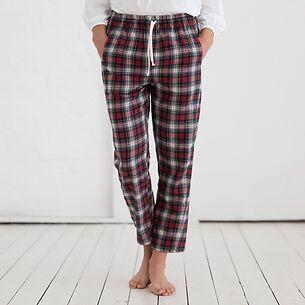 Sunday in Bed Pyjamahose Xmas- Tartan