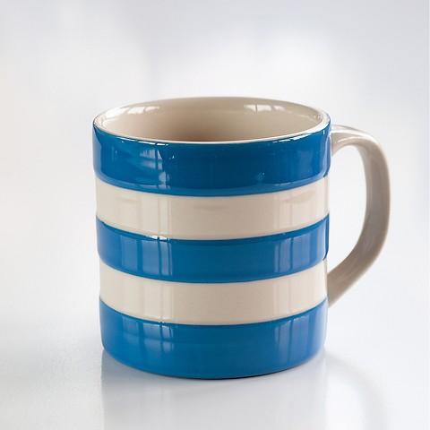 Jumbo Becher Cornishware Blau