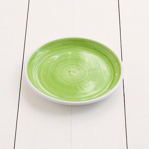 Ruggeri Brushed Verde Mela Kleiner Teller 21 cm