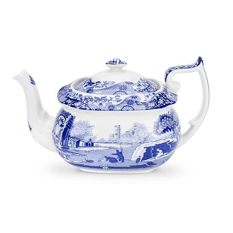 Spode Blue Italian Teekanne