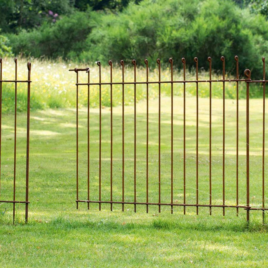 Gartenzaun aus Eisen bei Torquato kaufen