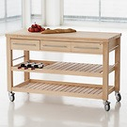 Mobiler Küchentisch Buche 140  cm