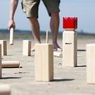 Kubb Spiel 'Red King'